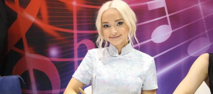 Confira as peformances de Dove Cameron em Mamma Mia! (28/07)