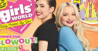 Dove Cameron e Sofia Carson são capa da revista Girls' World